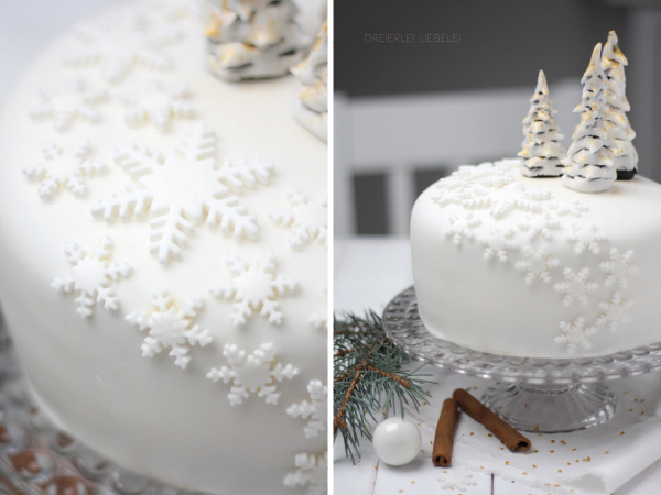 fondant torte winter wonderland dreierlei liebelei. Black Bedroom Furniture Sets. Home Design Ideas